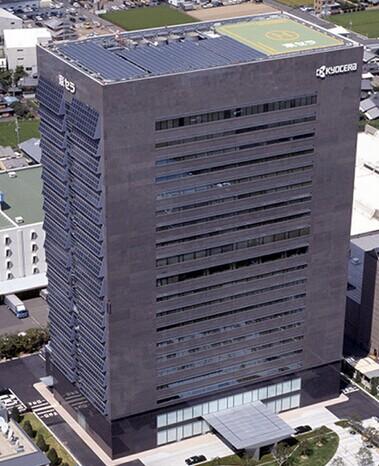 """2012年,京瓷公司对外宣布获得了""""三栅线电极结构""""专利"""